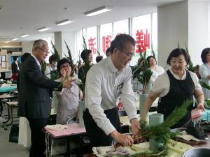 東京:土曜生花講座④