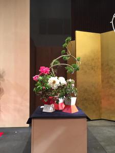 四作目:新花「花がさね」