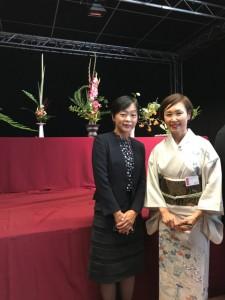 ・在ルクセンブルク日本国大使館 特命全権大使  鈴木様御夫人