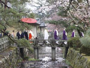 過去の華道祭、嵯峨天皇奉献華法会